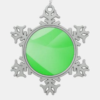 Ornement Flocon De Neige Papier peint vert