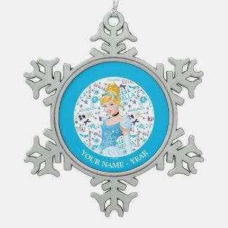 Ornement Flocon De Neige Princesse Cendrillon   Cendrillon ajoutent votre