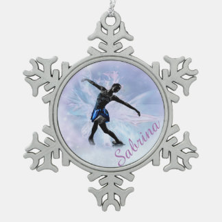 Ornement Flocon De Neige Princesse Snowflake Ornament de glace