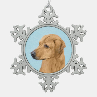 Ornement Flocon De Neige Rhodesian Ridgeback