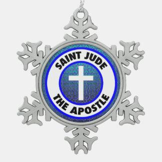 Ornement Flocon De Neige Saint Judas l'apôtre
