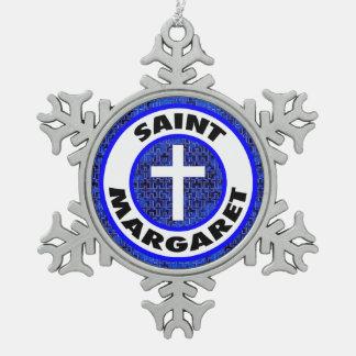 Ornement Flocon De Neige Saint Margaret