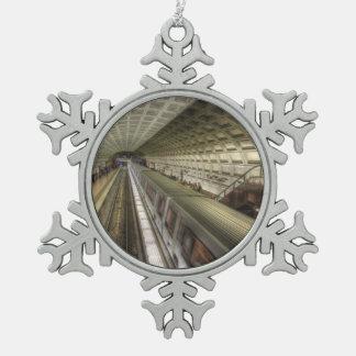 Ornement Flocon De Neige Station de train de métro de Washington DC