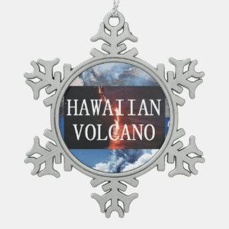 Ornement Flocon De Neige Volcans d'ABH Hawaï