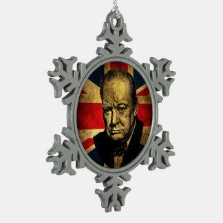 Ornement Flocon De Neige Winston Churchill