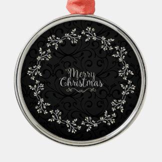 Ornement floral de la guirlande | de Noël élégant