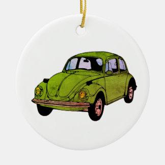Ornement hippie de cercle de dessin de voiture