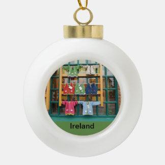 ornement irlandais d'arbre de Noël