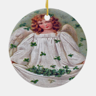 Ornement irlandais de Noël d'ange