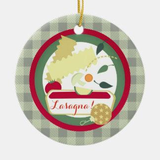 Ornement italien d'arbre de Noël de nourriture de