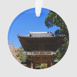 Ornement japonais de l'entrée #4-1 de jardin de