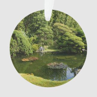 Ornement japonais de l'étang #3 de jardin de thé