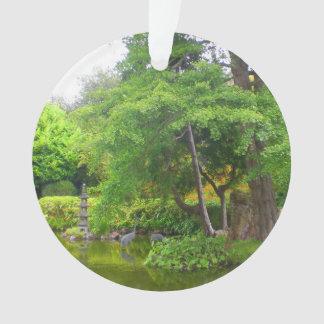 Ornement japonais de l'étang #4 de jardin de thé