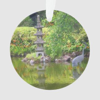 Ornement japonais de l'étang #5 de jardin de thé