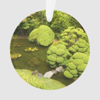 Ornement japonais de l'étang #6 de jardin de thé