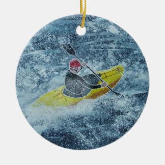 Ornement Kayaking