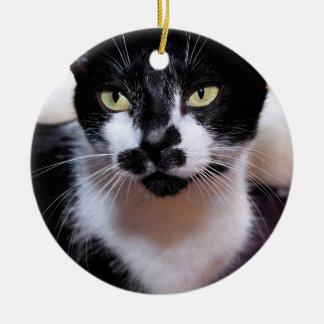 ORNEMENT NOIR ET BLANC DE CAT