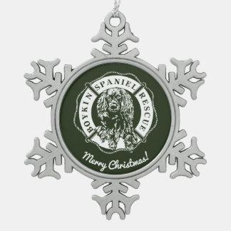 Ornement officiel d'étain de logo - vert