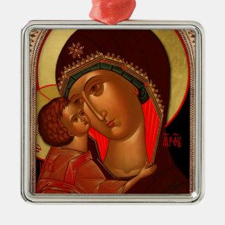 Ornement orthodoxe de Noël - Novgorod Theotokos