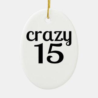 Ornement Ovale En Céramique 15 conceptions folles d'anniversaire