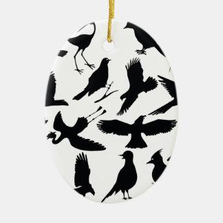 Ornement Ovale En Céramique 49birds