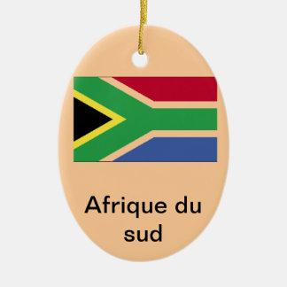 Ornement Ovale En Céramique Afrique du sud