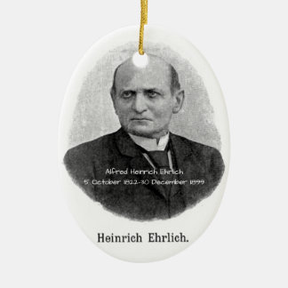 Ornement Ovale En Céramique Alfred Heinrich Ehrlich
