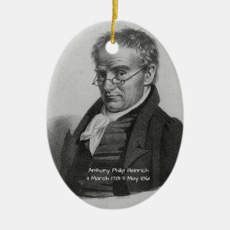 Ornement Ovale En Céramique Anthony Philip Heinrich