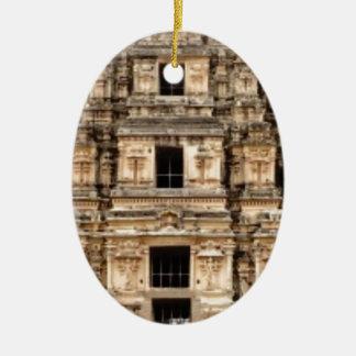 Ornement Ovale En Céramique bâtiment antique empilé