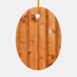 Ornement Ovale En Céramique bois et défauts