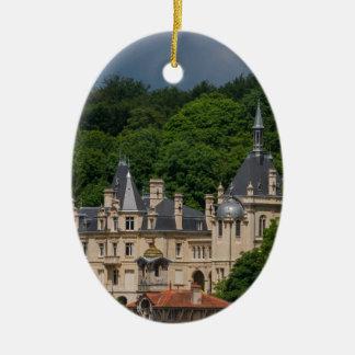 Ornement Ovale En Céramique Château de Pierrefonds