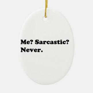 Ornement Ovale En Céramique Chemises drôles/sarcastiques, cadeaux, accessoires