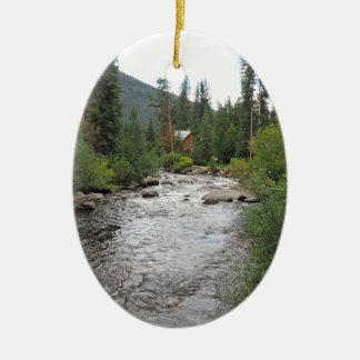 Ornement Ovale En Céramique courant dans le Colorado