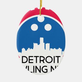 Ornement Ovale En Céramique DetroitBowlingNews.com