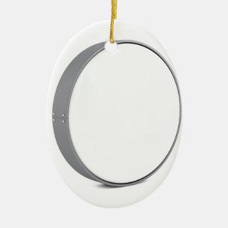 Ornement Ovale En Céramique Enseigne ronde