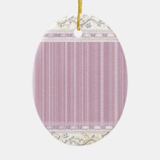 Ornement Ovale En Céramique Floral, art, conception, beau, nouvelle, mode