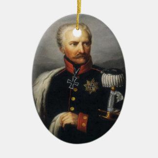 Ornement Ovale En Céramique Gebhard von Blucher