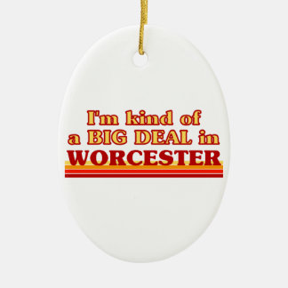 Ornement Ovale En Céramique Genre d'I´m d'affaire à Worcester