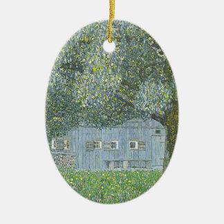 Ornement Ovale En Céramique Gustav Klimt - Bauerhaus dans la peinture de