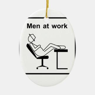 Ornement Ovale En Céramique hommes à work.ai