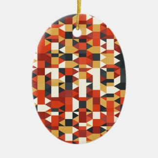 Ornement Ovale En Céramique image abstraite