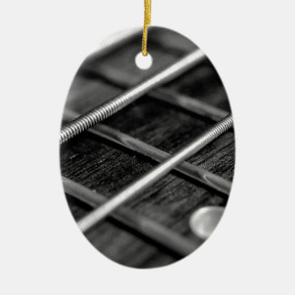 Ornement Ovale En Céramique Instrument de bruit de roche de musique de guitare