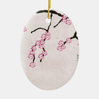 Ornement Ovale En Céramique la fleur antique 3 des fernandes élégants