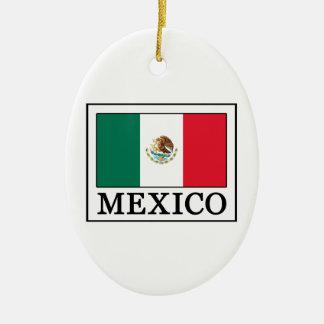 Ornement Ovale En Céramique Le Mexique