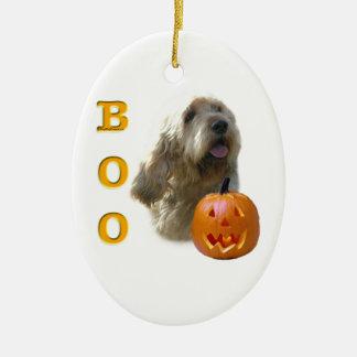 Ornement Ovale En Céramique L'Otterhound Halloween HUENT