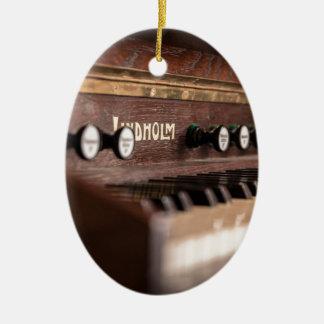 Ornement Ovale En Céramique Musique vieille Pologne antique d'instrument de