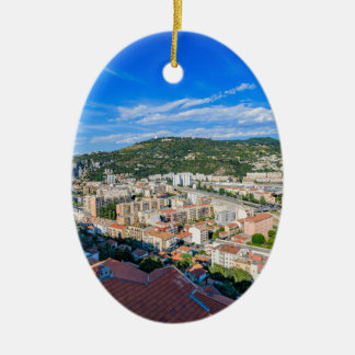 Ornement Ovale En Céramique Nice du centre, France