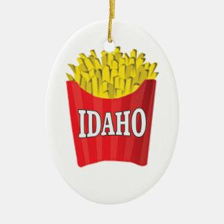 Ornement Ovale En Céramique Nourriture industrielle de l'Idaho
