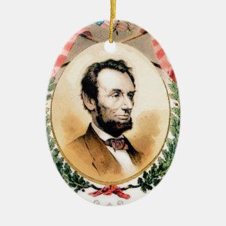 Ornement Ovale En Céramique Ovale d'Abe
