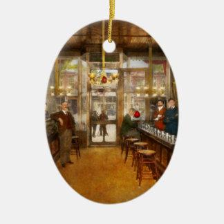 Ornement Ovale En Céramique Pharmacie - la pharmacie 1910 de Congdon